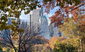 Autumn in Central Park Royalty Free Stock Photo
