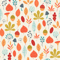 Autumn colors pattern Royalty Free Stock Photo