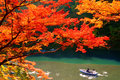 Autumn Colours in Kyoto Royalty Free Stock Photo
