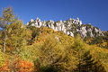 Autumn crag mountain Royalty Free Stock Photography