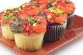Autumn Cupcakes Royalty Free Stock Photo
