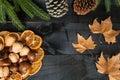 Autumn Cutlery Dinner Decoration
