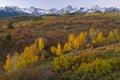 Autumn Dallas Divide Colorado Royalty Free Stock Photo