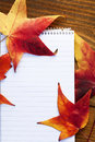 Autumn details and school supplies Royalty Free Stock Photos