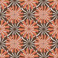 Autumn floral pattern. Vector seamless background texture. Fashion print for textile fabric packaging design Royalty Free Stock Photo