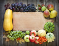 Autumn Fruits And Vegetables A...