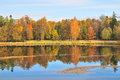 Autumn in Gatchina. St. Petersburg Stock Photos