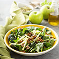Autumn harvest salad with apple Royalty Free Stock Photo
