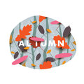Autumn Illustration With Diffe...