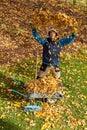 Autumn joy Royalty Free Stock Photo