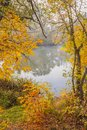 Autumn landscape Photographie stock