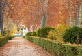 Autumn landscape park in in spain Royalty Free Stock Photography