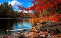 Title: Autumn Landscape.