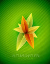 Autumn leaves concept. Vector nature background Royalty Free Stock Photography