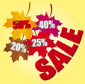 Autumn leaves discount Royalty Free Stock Images