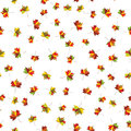 Autumn maple colorful leave. Welcome to school vector Seamless pattern for cushion, pillow, bandanna, kerchief, shawl fabric print