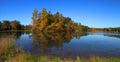 Autumn in Michigan Royalty Free Stock Photo
