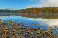 Autumn, Moccasin Lake Stock Photo