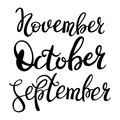 3 autumn month of year