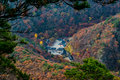 Autumn In  Naejangsan South Korea Royalty Free Stock Photo