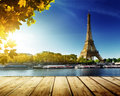 Autumn in Paris Royalty Free Stock Photo