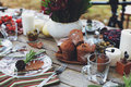 Autumn picnic Royalty Free Stock Photo