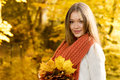 Autumn portrait Royalty Free Stock Images