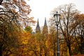 Autumn Prague Stock Photography
