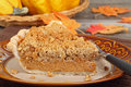 Autumn Pumpkin Pie Royalty Free Stock Image