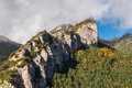 Autumn in pyrenees Royalty Free Stock Photo