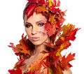 Autumn Queen Royalty Free Stock Photos