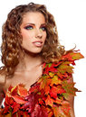 Autumn Queen Stock Photography