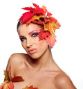Autumn Queen Stock Photos