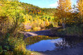 Autumn reflects pools mining wastes cliff mine upper penninsula michigan copper mine operated michigan copper district to Stock Photo