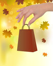 Autumn sale Royalty Free Stock Images