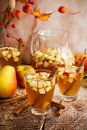 Autumn Sangria Royalty Free Stock Photo