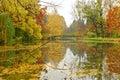 Autumn scene from Skopje Royalty Free Stock Photo