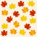 Autumn seamless background Royalty Free Stock Image