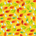 Autumn seamless pattern. Royalty Free Stock Photo