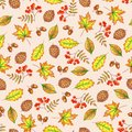 Autumn seamless pattern.
