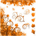Autumn season ornaments Royalty Free Stock Photo