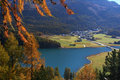 Autumn swiss landscape Royalty Free Stock Image