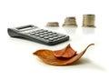 Autumn Tax Returns Royalty Free Stock Photo