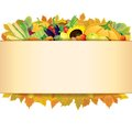 Autumn thanksgiving background vector eps retro Royalty Free Stock Images
