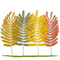 Autumn (vector) Stock Images