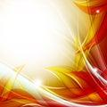 Autumn vector backdrop. Eps10 Royalty Free Stock Photography