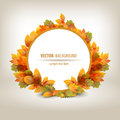 Autumn vector format authors illustration in Stock Photos