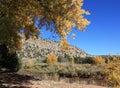 Autumn in villanueva state park Royalty Free Stock Photo