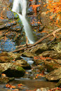 Autumn Waterfall II Royalty Free Stock Image