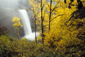 Autumn Waterfalls Royalty Free Stock Photo